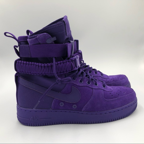 NEW Nike SF AF1 Air Force 1 Court Purple Violet NWT